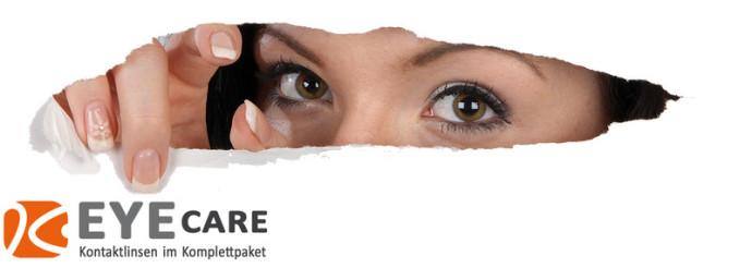 EYE CARE - Kontaktlinsen im Komplettpaket