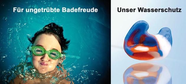 Wasserschutz für ungetrübte Badefreude